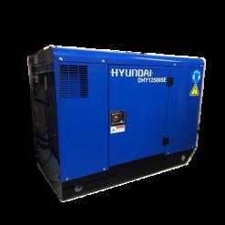 Máy phát điện 10kw chạy dầu 1pha. Hyundai DHY12500SE
