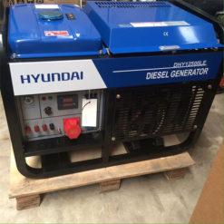 Máy phát điện 10kw chạy dầu 1pha. Hyundai DHY-12500LE-t1