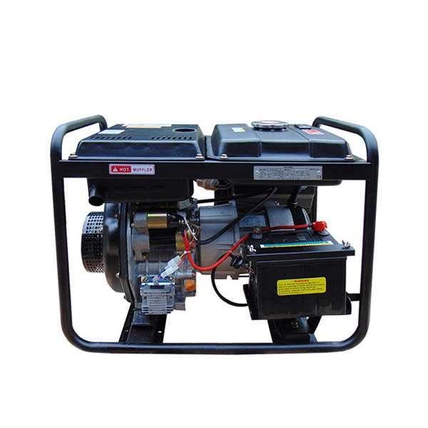 Máy phát điện chạy dầu 3kw cho gia đình. Hyundai DHY-36CLE-3