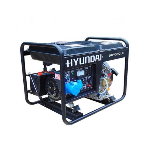 Máy phát điện chạy dầu 3kw cho gia đình. Hyundai DHY-36CLE