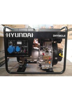 Máy phát điện chạy dầu 4kw. Hyundai DHY-50CLE-1