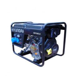 Máy phát điện chạy dầu 4kw. Hyundai DHY-50CLE