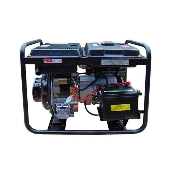 Máy phát điện chạy dầu 5kw. Hyundai DHY6000LE-S