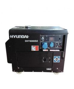 Máy phát điện chạy dầu 5kw cách âm. Hyundai DHY-6000SE