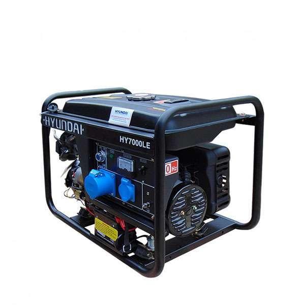 Máy phát điện gia đình 5kw. Hyundai HY7000LE-2