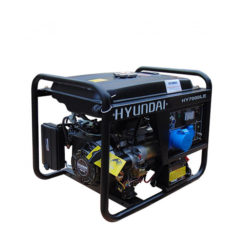 Máy phát điện gia đình 5kw. Hyundai HY7000LE-3