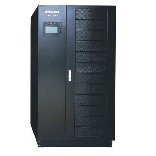 Bộ lưu điện UPS 100KVA 3 pha vào 3 pha ra. Hyundai HD-100K3