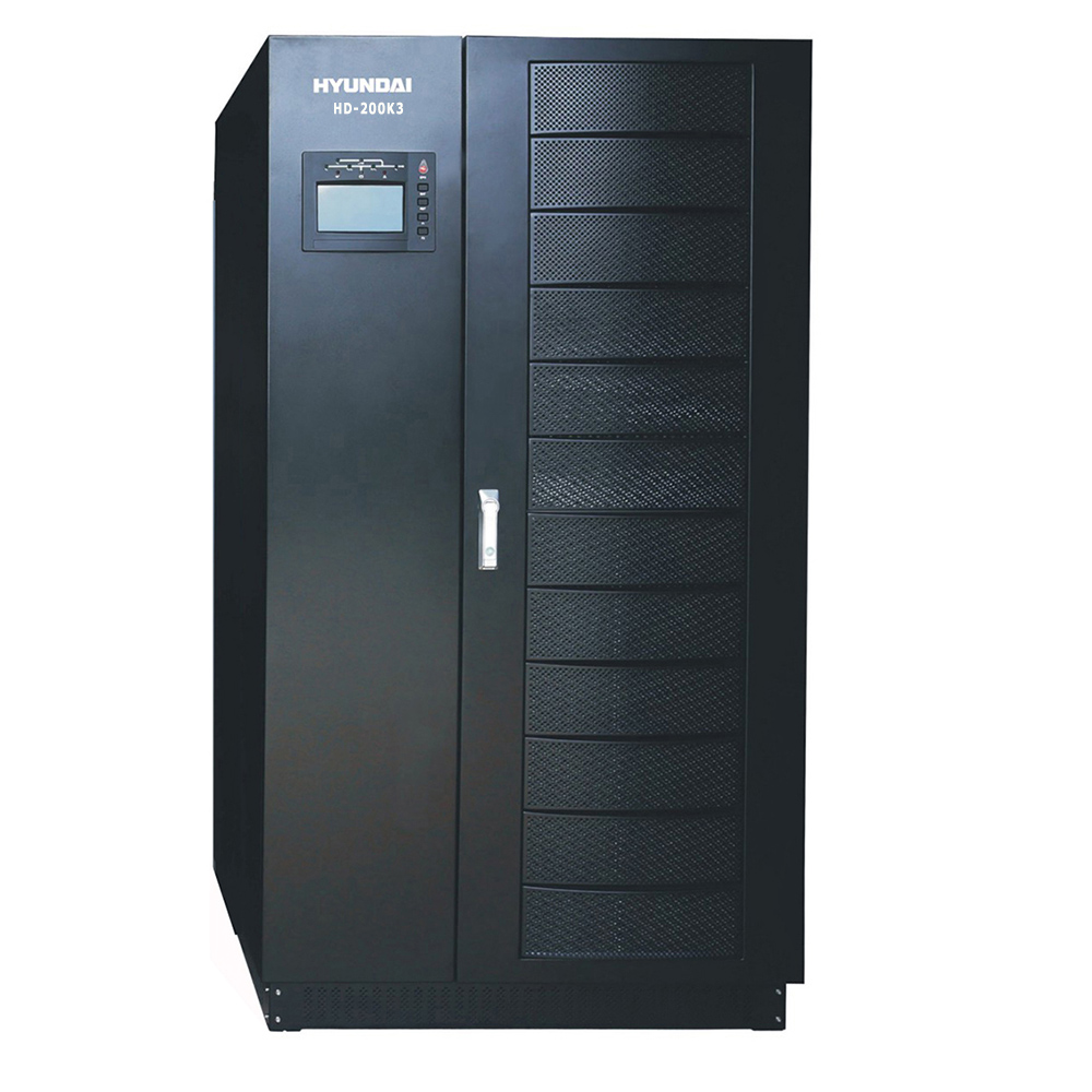 Bộ lưu điện UPS 200KVA 3 pha vào 3 pha ra. Hyundai HD-200K3