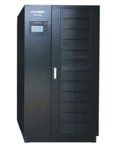 Bộ lưu điện UPS 25KVA 3 pha vào 3 pha ra. Hyundai HD-25K3