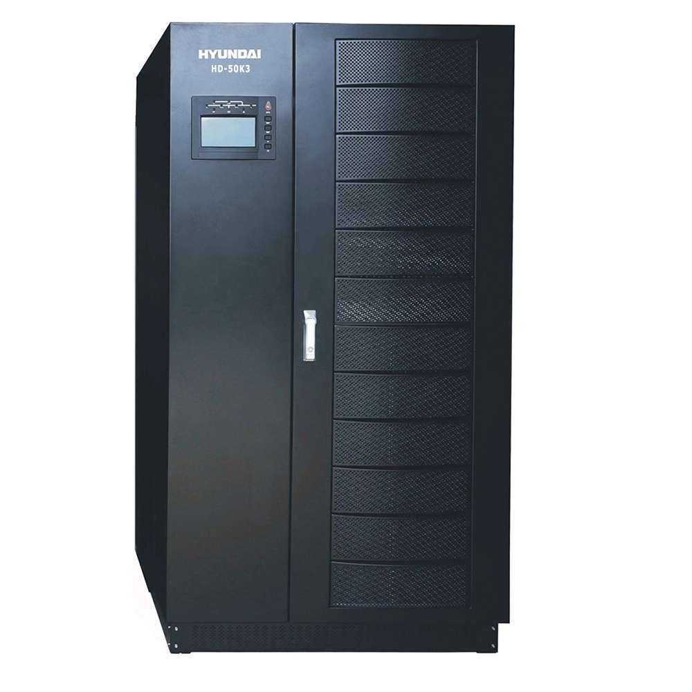 Bộ lưu điện UPS 50KVA 3 pha vào 3 pha ra. Hyundai HD-50K3