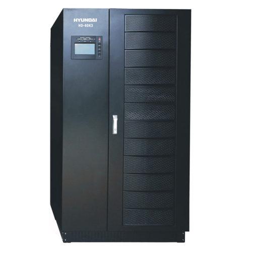 Bộ lưu điện UPS 60KVA 3 pha vào 3 pha ra. Hyundai HD-60K3