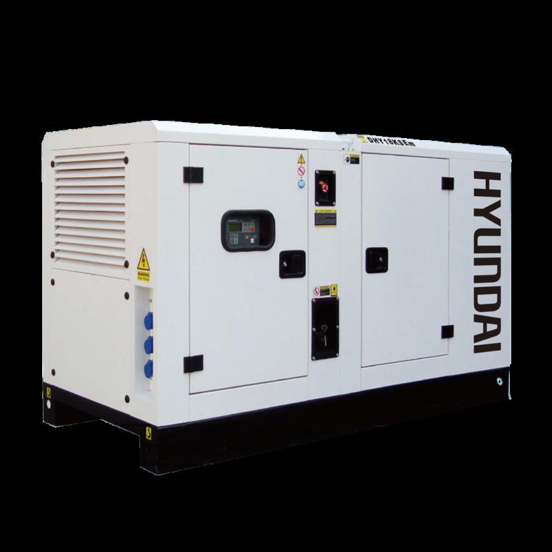 Hyundai DHY18KSEm. Máy phát điện 16kw/16kva 1 pha công nghiệp chạy dầu