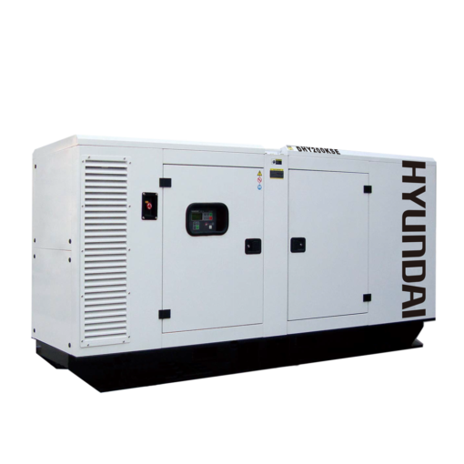 Máy phát điện 182KVA/145KW 3 pha công nghiệp chạy dầu. Hyundai DHY200KSE