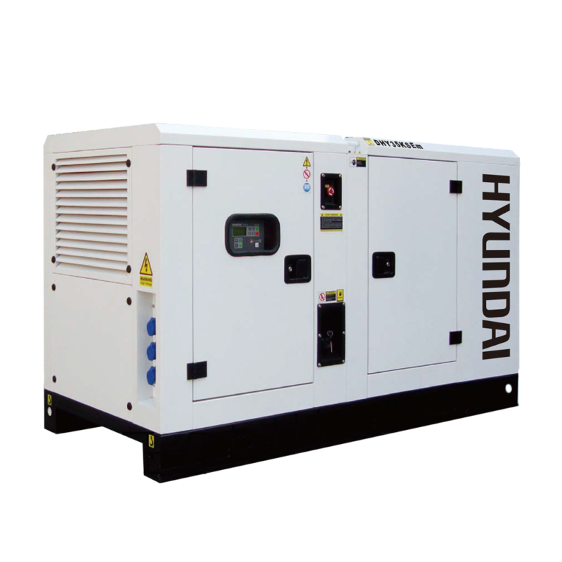 Máy phát điện 32kw/32kva 1 pha công nghiệp chạy dầu. Hyundai DHY35KSEm