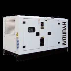 Máy phát điện 40KVA/32KW 3 pha công nghiệp chạy dầu. Hyundai DHY45KSE