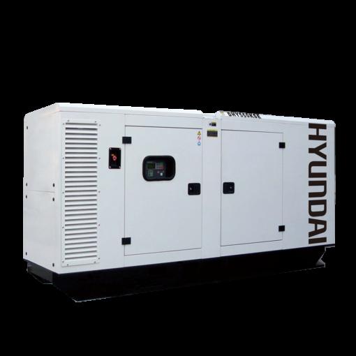 Máy phát điện 500KVA/400KW 3 pha công nghiệp chạy dầu. Hyundai DHY550KSE