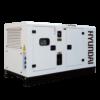 Máy phát điện 50KVA/40KW 3 pha công nghiệp chạy dầu. Hyundai DHY55KSE