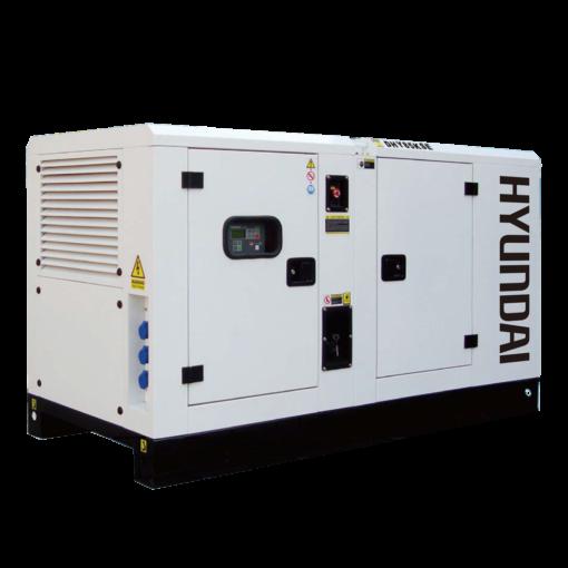 Máy phát điện 77KVA/62KW 3 pha công nghiệp chạy dầu. Hyundai DHY85KSE