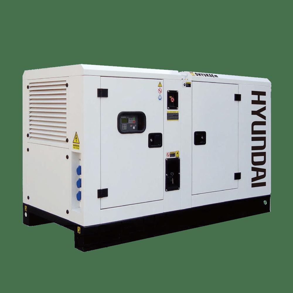 Hyundai DHY9KSEm. Máy phát điện 8kw công nghiệp 1pha chạy dầu