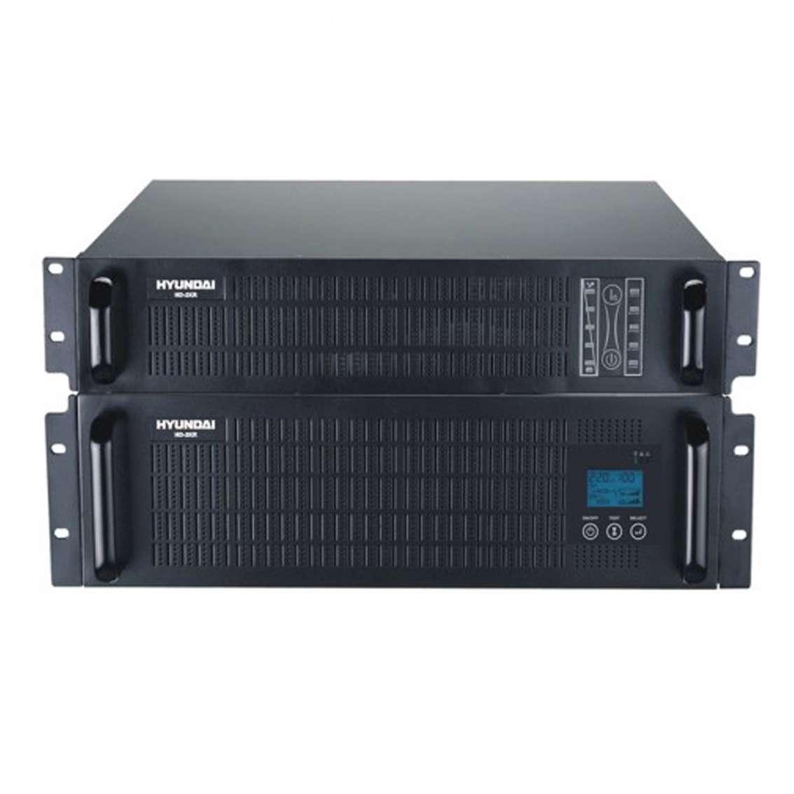Bộ lưu điện UPS Rack Online 6KVA Hyundai HD-6KR