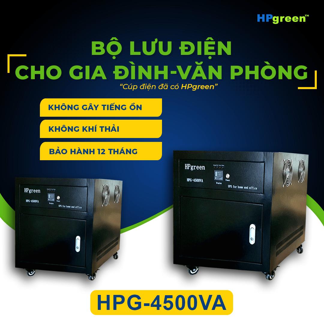 Bộ lưu điện cho gia đình văn phòng hpg-4500va